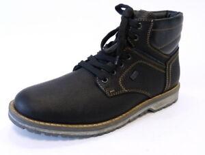 Rieker-Schnuer-Boot-39223-00-schwarz-Wasserdicht-Riekertex-Leder-warm