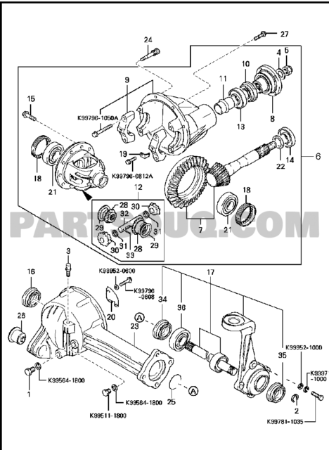 Kia Sportage Front Differential