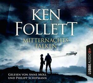KEN-FOLLETT-MITTERNACHTSFALKEN-5-CD-NEW