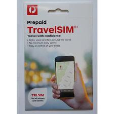 WorldSIM Data SIM Card Travel Card Roaming Credit for sale