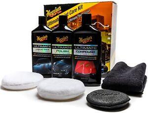 Meguiars-Ultimate-Paint-Kit-Liquid-Wax-Polish-Compound-Even-Coat-Applicator