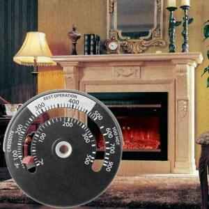 Fireplace-Thermometer-Wood-Log-Burning-Stove-Pipe-Fire-Fireplace-W7W8-Flue-I5D1