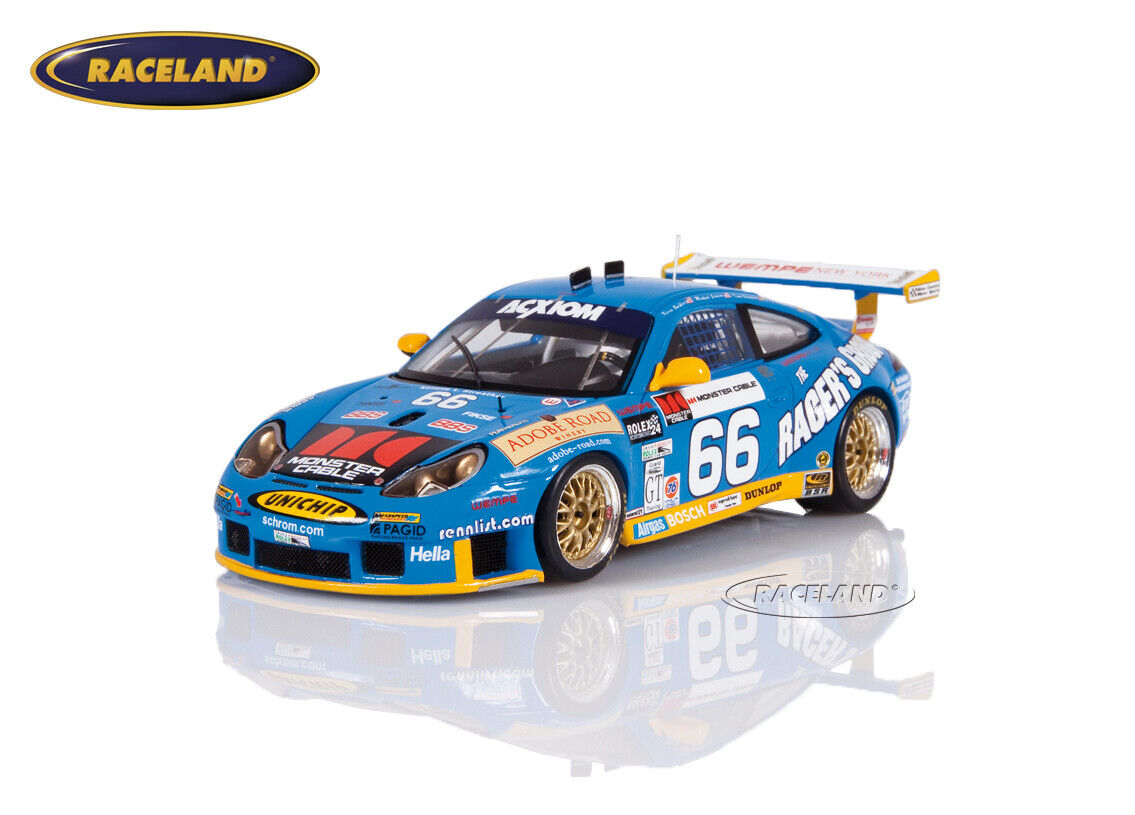 Porsche 911 gt3-rs vencedores 24h Daytona 2003 montaña maestro Bernhard s. b, Spark 1 43