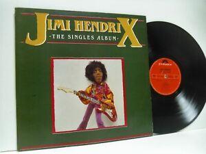 JIMI-HENDRIX-the-singles-album-DOUBLE-LP-EX-VG-PODV-6-vinyl-greatest-hits-uk