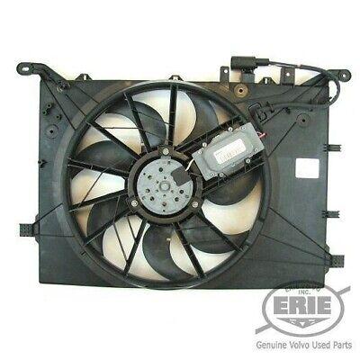 Volvo OEM engine cooling fan motor shroud assembly V70 S60 S80 XC70 04-09 TESTED