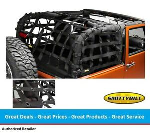 Smittybilt For 97-06 Jeep TJ C.RES2 HD Cargo Restraint System 561135