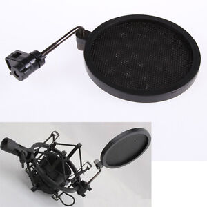 Mic Microphone Wind Screen Mask Gooseneck Shied Pop Filter
