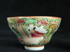 Antique Chinese porcelain wine / tea  cup bowl