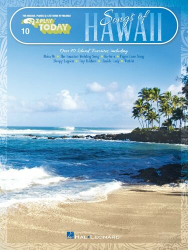 Songs of Hawaii Sheet Music E-Z Play Today Book NEW 000198012