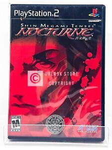 Shin Megami Tensei: Nocturne - PS2 - Used | READ DESCRIPTION
