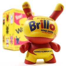 "Kidrobot ANDY WARHOL DUNNY SERIES - BRILLO SOAP PADS Yellow 3"" Mini Vinyl Figure"