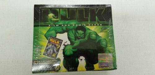 2003 Upper Deck Hulk Film and Comic Trading Card Collector Pack Box