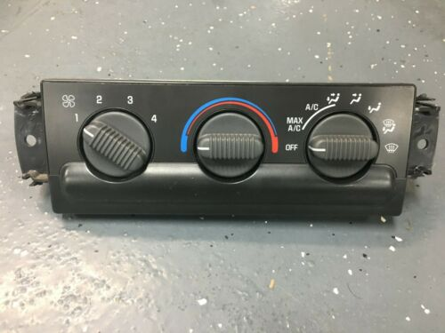 98-04 CHEVY S10 BLAZER GMC JIMMY HEATER CLIMATE CONTROL UNIT 99 00 01 02 03 A//C