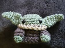 Baby Yoda Inspired Amigurumi Doll | AllFreeCrochet.com | 169x225