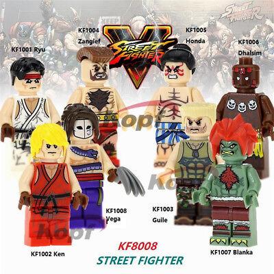 1 Street Fighter 5 figure E Honda Blanka Guile Zangief Dhalsim Ryu Ken Chun-Li