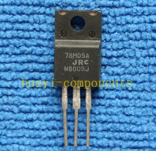 5pcs NJM78M05A 78M05A Positive Fixed Voltage Regulator TO-220