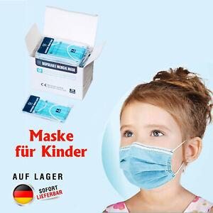 Hygiene 3-lagig medizinische Kinder MASKE, EN14683,OP Mundschutzmaske Atemschutz
