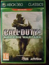 CALL OF DUTY 4 MODERN WARFARE Nuevo Gran shooters acción Xbox 360 en castellano