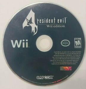 Resident-Evil-4-Wii-Edition-Nintendo-Wii-Disc-Only-TESTED-Rare