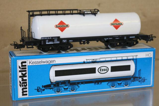 Wagon citerne à bogies Esso réf.4650 boîte d/'origine Marklin HO