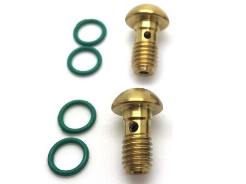 2 BremsleitungSchrauben aus TITAN 43/% leichter 2 Farben zur Auswahl SHIMANO