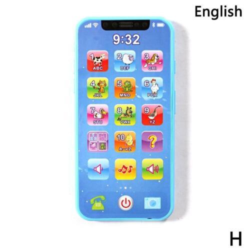 Baby spielt Handy Handy pädagogisches Lernmaschinen Telefon Spielzeug 2019 NEU