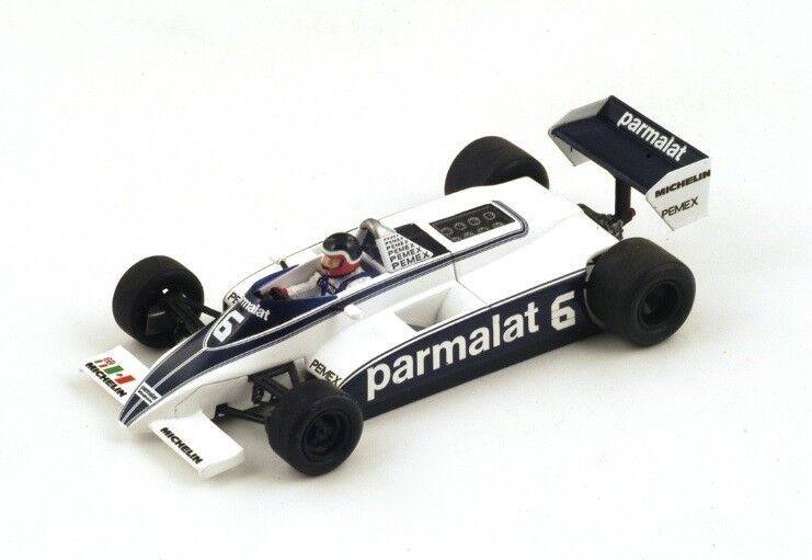 Brabham BT49 C  6 H.Rebaque  GP Monaco  1981 (Spark 1 43   S4348)
