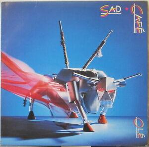 SAD CAFE Ole LP U.K. Rock w/ Paul Young – on Polydor, café, olé