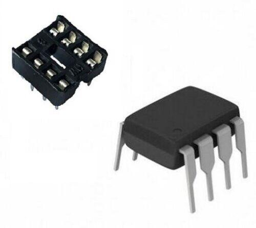 1 PEZZ0 Integrato IR 2153 Dip 8 1 Zoccolo 8 pin IR2153 Elettronica Arduino