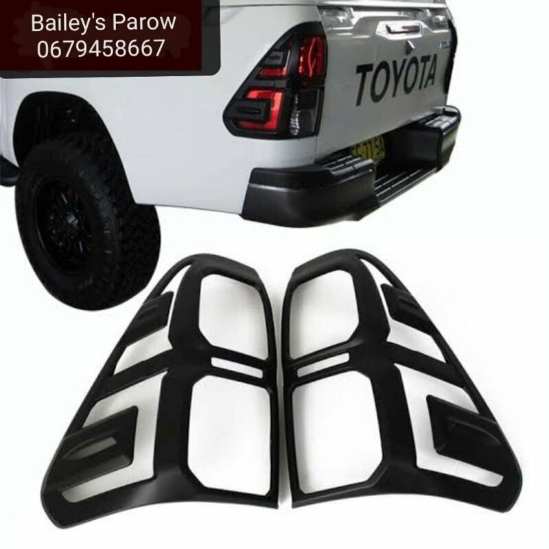 Toyota Hilux Headlight and Taillight Covers