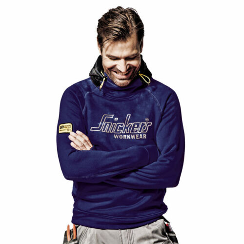 Snickers Mens Durable Heavyweight Warm Hooded Work Sweatshirt Soft Comfy Hoodie