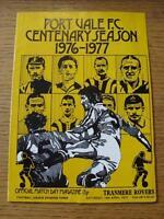 16/04/1977 Port Vale v Tranmere Rovers  (Light Crease)