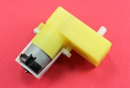 Yellow DC Gearmotor 1:48 Gear Ratio