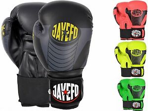 JAYEFO-DYNAMIC-LEATHER-BOXING-GLOVES-MMA-MUAY-THAI-KICK-BOXING-SPARRING-GLOVES