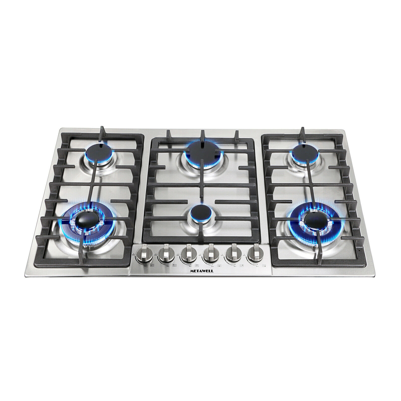 Viking Vgrt3606bss Stainless Steel 6 Burner Gas Cooktop Silver For Sale Online Ebay