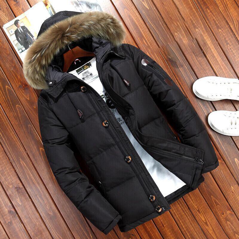 Fur Hooded-Black