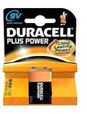Duracell Plus Power 9v Battery  6LR61/ MN1604 Fire/Smoke Alarm/Detector Battery