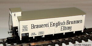 Details Zu Tillig Bahn 501768 Kühlwagen A2 Kpev I Brauerei Englisch Brunnen Spur Tt