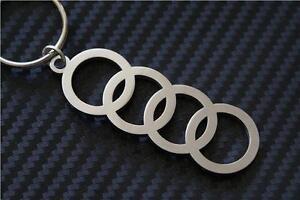 Audi TT  RINGS Keyring Keychain B