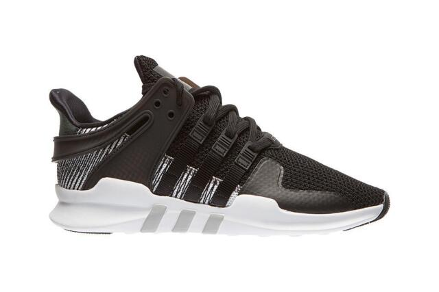 Mens ADIDAS EQT SUPPORT ADV Black Running Trainers BY9585