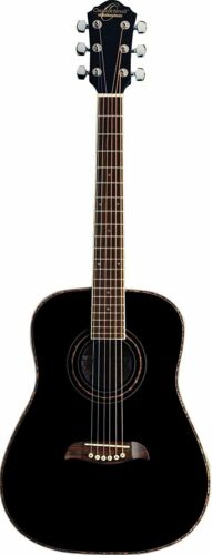 Oscar Schmidt 6 String OGHS 1//2 Size Dreadnought Left Hand Acoustic Guitar...