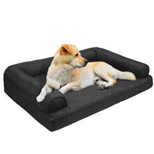 LIVINGbasics® Ultra Oxford Orthopedic Dog Bed Couch Sofa Bed Pet Bed