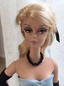Barbie Bijoux, Collier De Perles Noir Fashion Dolls, Vintage/silkstone/unique Poupées-silkstone/ooak Puppen Fr-fr Afficher Le Titre D'origine Pour Effacer L'Ennui Et éTancher La Soif