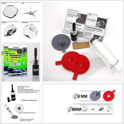 Car Windscreen Windshield Auto Glass Chip & Crack Scratches DIY Repair Tool Kit