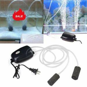 Air-Bubble-Disk-Stone-Aerator-Aquarium-Fish-Tank-Pond-Oxygen-Pump-HOT-DM