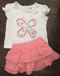 6 month butterfly skirt