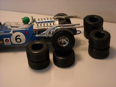 8 pneus URETHANE  F1 Power Sledge SCALEXTRIC