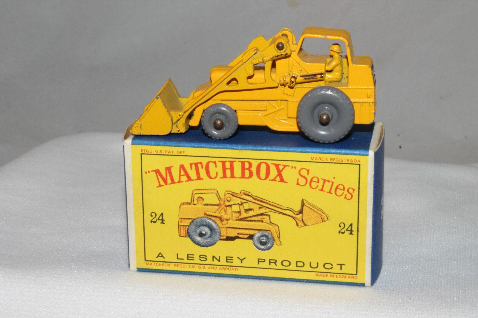 conveniente Matchbox Matchbox Matchbox   24b Weatherhill Hydraulic Excavadora, Gpw, prensado, Niza, En Caja Tipo D  encuentra tu favorito aquí