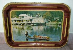 Vintage-Old-Beautiful-Modern-deluxe-Litho-Print-Serving-Tin-Tray