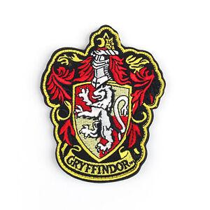 Gryffindor-Harry-Potter-Hogwarts-Slytherin-Insignia-Bordada-Patch-Hook-Loop